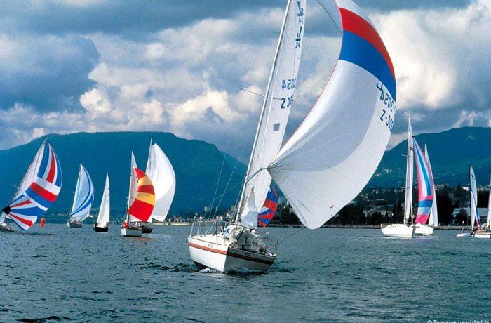 Régate sur le lac de Neuchâtel