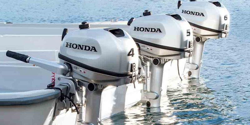 Outboard engine / gasoline / 5 hp